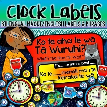 What's the time? {Maori clock labels}