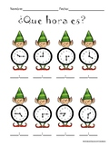 What's the time? Spanish/English