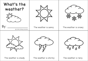 graphic about Printable Weather identified as Whats the climate? A Science Sight Term Ebook Printable - Totally free