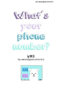 What´s your phone number?