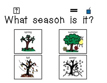 """What Season is it?"" Daily Activity"
