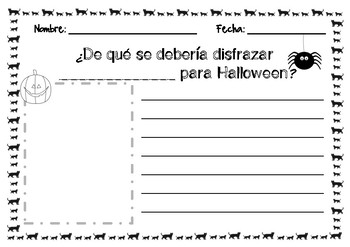 What should my teacher be for Halloween? English and Spanish versions