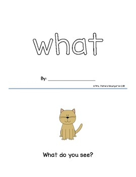 What Sight Word Reader