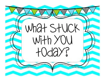 What stuck with you? Header