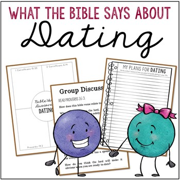 What the Bible Says About: DATING, Notebook Journal Project for Teens