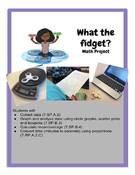 What the Fidget Spinner? Math Project