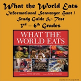 What the World Eats - support materials