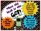 QR - What the heck is the GCF? with QR Codes