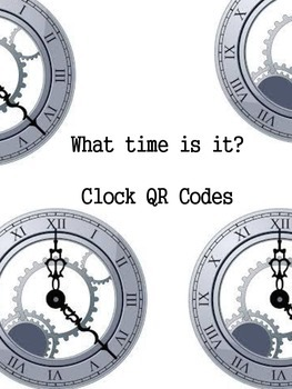 What time is It? Clock QR Codes