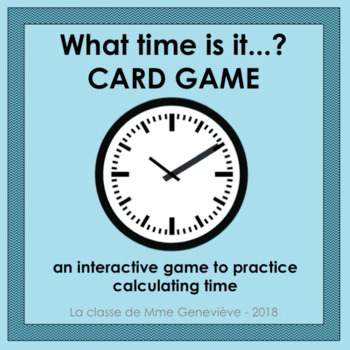What time is it...? - CARD GAME