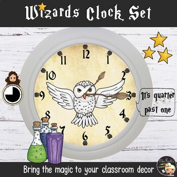 What time is it? - Classroom Display
