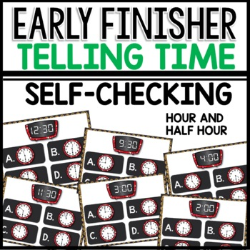What time is it? (Early finisher PPT)