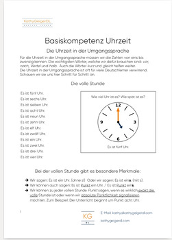 What time is it? Learn how to say the time in German, step by step, Level A1