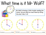 What time is it Mr Wolf? (hour)