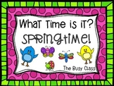 What time is it? Springtime!
