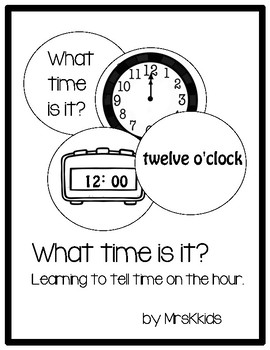 What time is it? Time on the hour