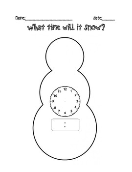 What time will it Snow?