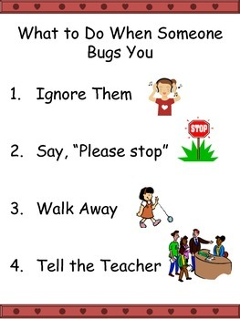 What to Do When Someone Bugs You