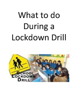 What to do During a Lock Down Drill