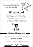 What to do? How to overcome hard language difficulties whi