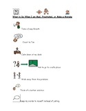 What to do When I am Mad or Frustrated