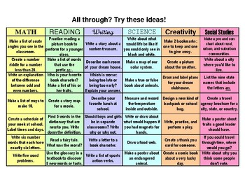What to do When You're Through (Color, 5pg)