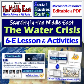 What to do about the Water?- Issues in the Middle East Lesson