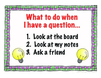 What to do when I have a question