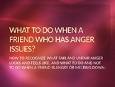 Dealing with anger in others