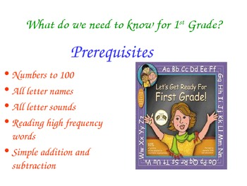 What to expect in First Grade... a parent guide