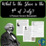 What to the Slave is the Fourth of July Primary Source Analysis SOAP