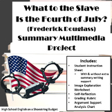 What to the Slave is the Fourth of July? Summary Multimedia Project (Douglass)