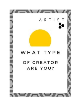 What type of creator are you