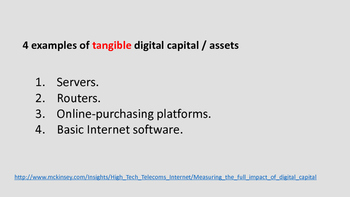 What types of capital are you developing?