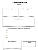 What was the Gold Rush worksheet packet