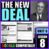 What was the 'New Deal'? How did FDR's New Deal policies i