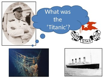 What was the 'Titanic' Starter Activity