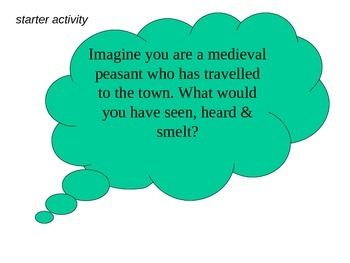 What were medieval towns like