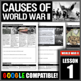 What were the historical circumstances that led to World War II?