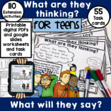 Perspective taking activities for teens | print and digita