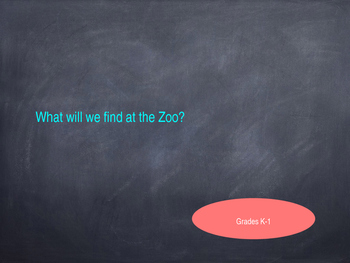 What will we find at the zoo?