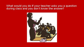 What would you do?  A Problem Solving Social Skills Activity