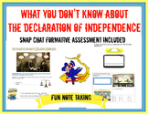 What you Don't Know about the Declaration of Independence SketchNotes