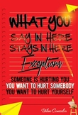 What you say stays  in Here Poster number 3