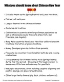 What you should know about Chinese New Year    Lunar New Year
