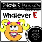 WhatEVER E (Activities for learning short vowel e)
