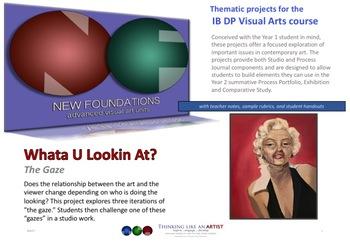 Whata U Lookin At - The Gaze - IB DP Visual Arts project