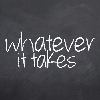 Whatever It Takes Font for Commercial Use