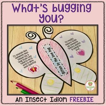 Social Skills Activities Idioms Spring Bugs