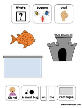 What's Bugging You? Shapes & Size Edition! Adapted Book